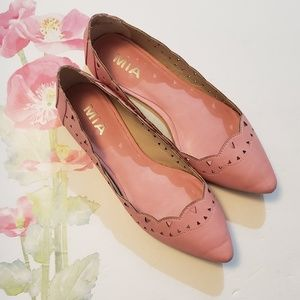 Adorable Pink Flat Shoes